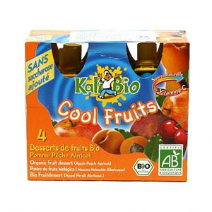유기농 과일디저트 사과복숭아맛(360g)