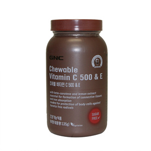 GNC 츄어블 비타민C 500(90정)