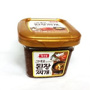 CJ 해찬들 그대로 끓여먹는 된장찌개(450g)