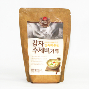CJ 백설 감자수제비가루(500g)