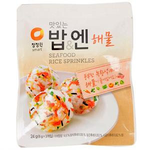 대상 청정원 맛있는 밥&엔 해물(24g)
