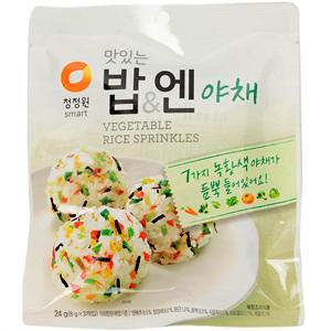대상 청정원 맛있는 밥&엔 야채(24g)
