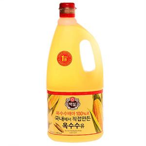 CJ 백설 옥수수유(1.8L)