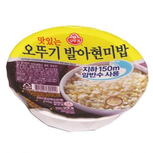오뚜기 맛있는 발아현미밥(210g)