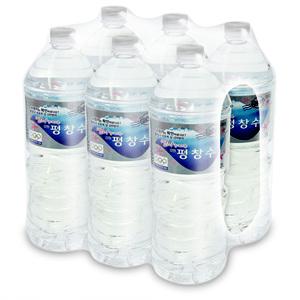 해태 강원 평창수(2L*6입)1box는 6入입니다. *생수 2L의 경우, 1회 주문 당 총 2box로 구매 제한합니다.