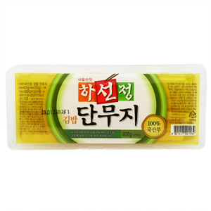 CJ 하선정 김밥 단무지(370g)