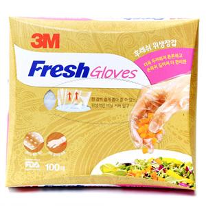 3M 후레쉬 위생장갑(100매)