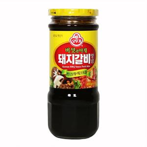 오뚜기 버섯야채 돼지갈비양념(480g)