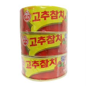 오뚜기 고추참치 번들(150g*3)