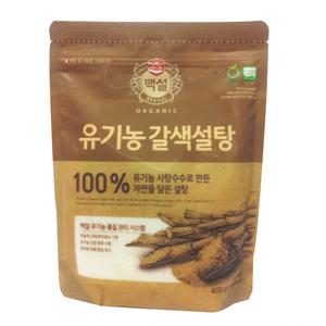 CJ 백설 유기농 갈색설탕(400g)