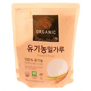 CJ 백설 유기농 밀가루(400g)