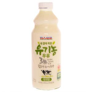 파스퇴르 내곁에목장 유기농 저지방 우유(900ml)