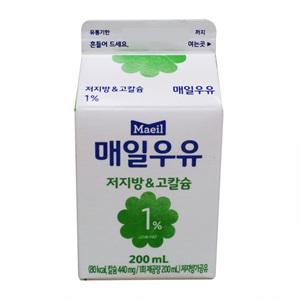 매일 저지방&칼슘 우유(200ml)