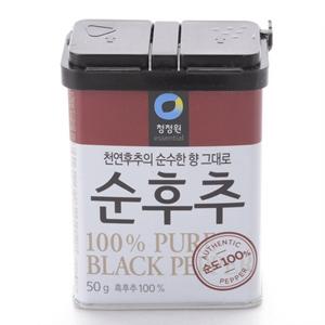 대상 청정원 순후추(50g)