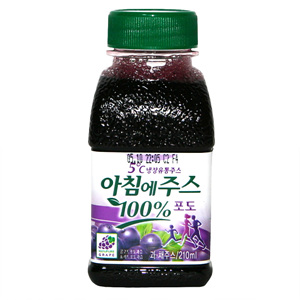 서울 아침에주스 포도(210ml)