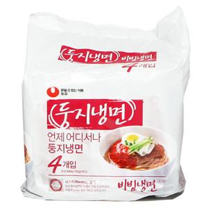 농심 둥지냉면 비빔냉면(162g*4)