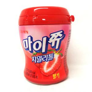 크라운 마이쮸 자일딸기 용기(110g)