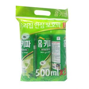 유델 홈키파 내츄럴 허브 에어졸(500ml*3입)
