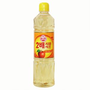 오뚜기 2배 사과식초(900ml)
