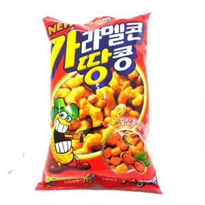 크라운 카라멜콘과땅콩(82g)