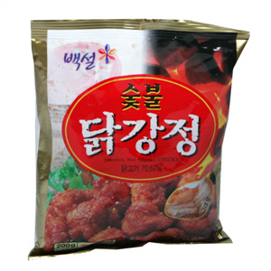CJ 백설 숯불 닭강정(200g)