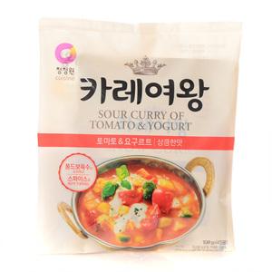 대상 카레여왕 토마토&요구르트 상큼한맛(108g)