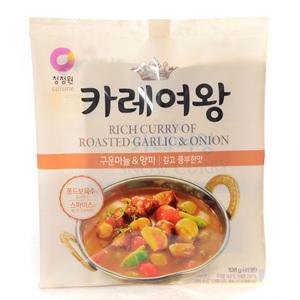 대상 카레여왕 구운마늘&양파 깊고풍부한맛(108g)