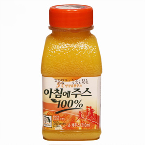서울 아침에 오렌지주스(210ml)