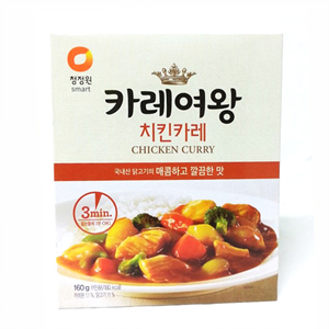 대상 청정원 카레여왕 치킨(160g)