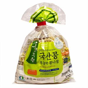 풀무원 국산콩 무농약 콩나물(200g)