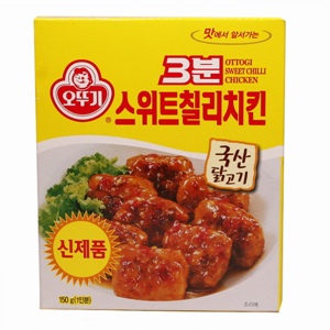 오뚜기 3분 스위트칠리 치킨(150g)