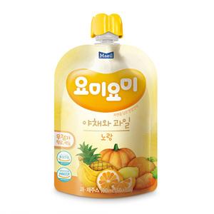 매일 요미요미 노랑 야채와 과일(100ml*2입)
