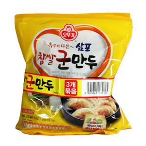오뚜기 삼포 찹쌀군만두(300g*3입)