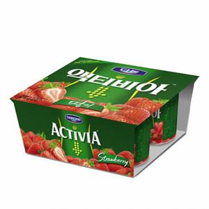 다논 액티비아 드링크 컵 딸기(80g*4입)