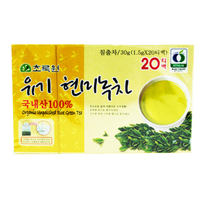 유기농 현미녹차(1.5g*20T)