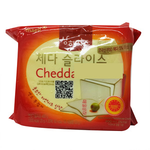 상하 체다 슬라이스 치즈(400g)