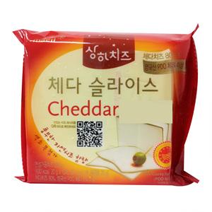 상하 체다 슬라이스 치즈(200g)