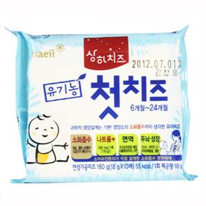 상하 유기농 우리아이 첫치즈(180g)
