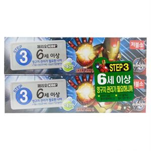 LG 페리오 키즈 버블검향 치약(75g*2입)