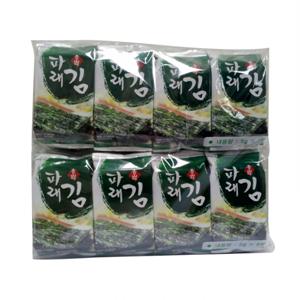 청산에 파래식탁김 기획(5g*16봉)