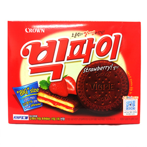 크라운 빅파이 딸기(216g)