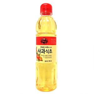 CJ 백설 국내산 사과로만든 사과식초(500ml)