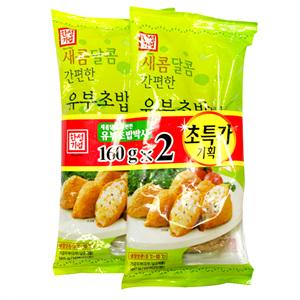 한성 새콤달콤 유부초밥 박사(160g*2입)