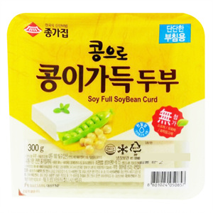 종가집 콩이가득 부침용 두부(310g)