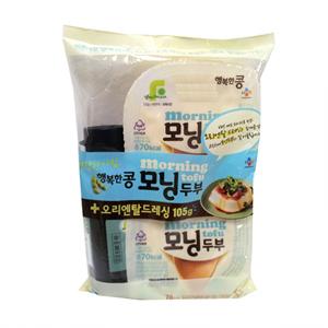 CJ 행복한콩 모닝두부 소스기획(140g+140g)