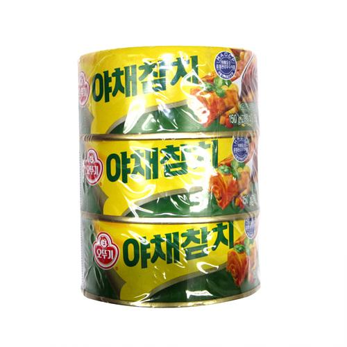 오뚜기 야채참치(150g*3입)