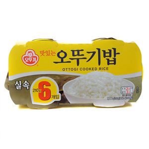 오뚜기 맛있는 오뚜기밥(210g*6입)