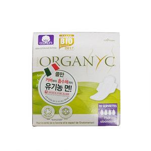 콜만 유기농 생리대 나이트 날개형 중형(10p)