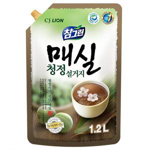 CJ 참그린 매실청정 설거지 리필(1.2kg))