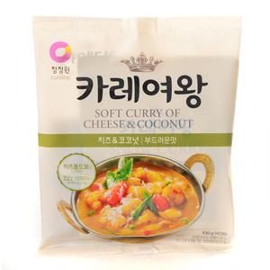 대상 청정원 카레여왕 치즈&코코넛 크림(108g)